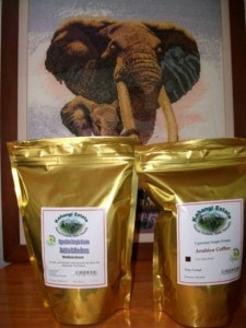 Kahangi Organic Arabica Coffee Resealable 250 & 500 gm bags