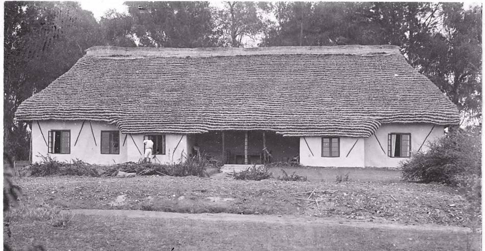 Main house at Kahangi Estate constructed c1934