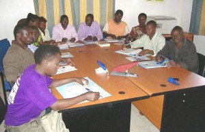 Participants in Sustainable Training at Kahangi Estate