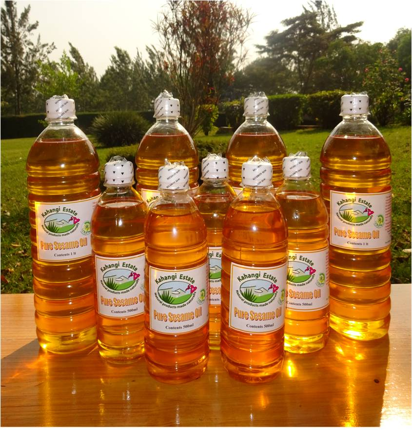 Organic Sesame Oil Naturally Processed